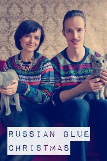 Russian Blue Xmas